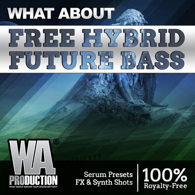 Free Future Bass Sample Pack, Hybrid Future Bass by W.A. Production, Cover Art