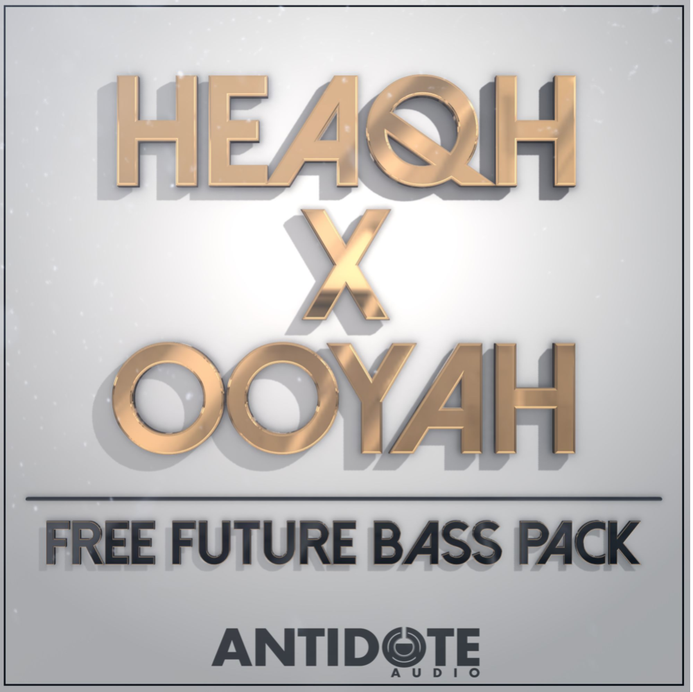Free Future Bass Sample Pack, Future Bass Pack by Antidote Audio, Cover Art