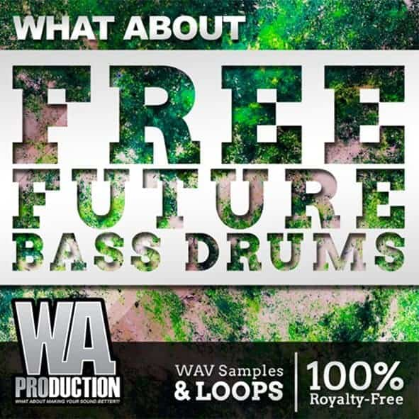 Free Future Bass Sample Packs, Future Bass Drums by W.A. Production ,Cover Art