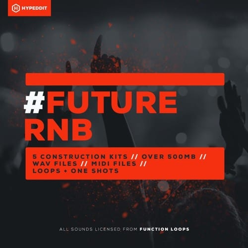 Free Future Bass Sample Pack, # Future RnB by Hypeddit, Cover Art